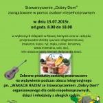 Zbiórka żywności plakat - 15.07.2015
